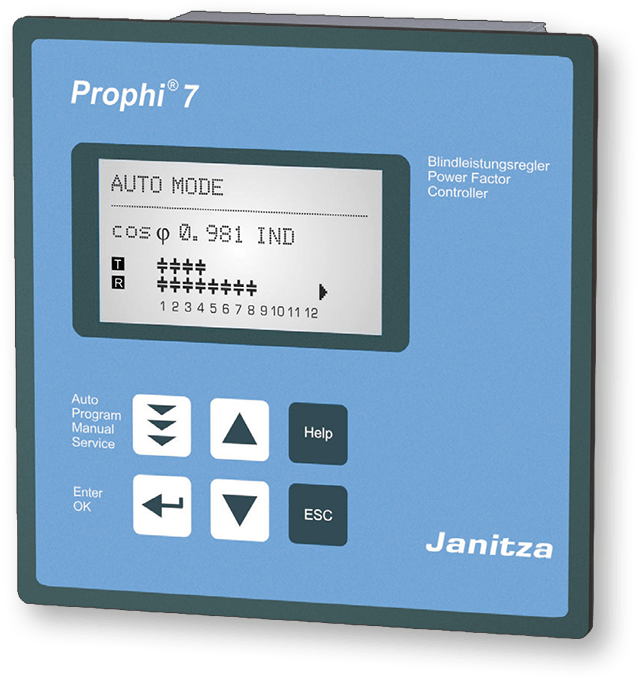Janitza-Prophi-7-Blindleistungsregler